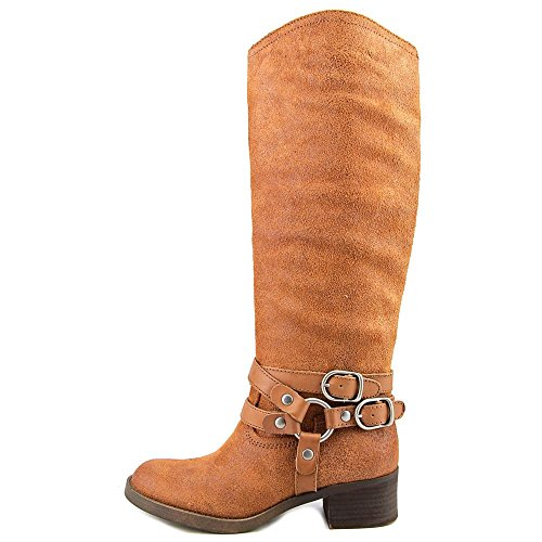 High Brand Fashion Knee Hanah Toffee Toe Lucky Closed Womens Boots 47xZwfFqY