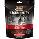 Merrick Backcountry Great Plains Real Beef Jerky Dog Treat, 4.5oz