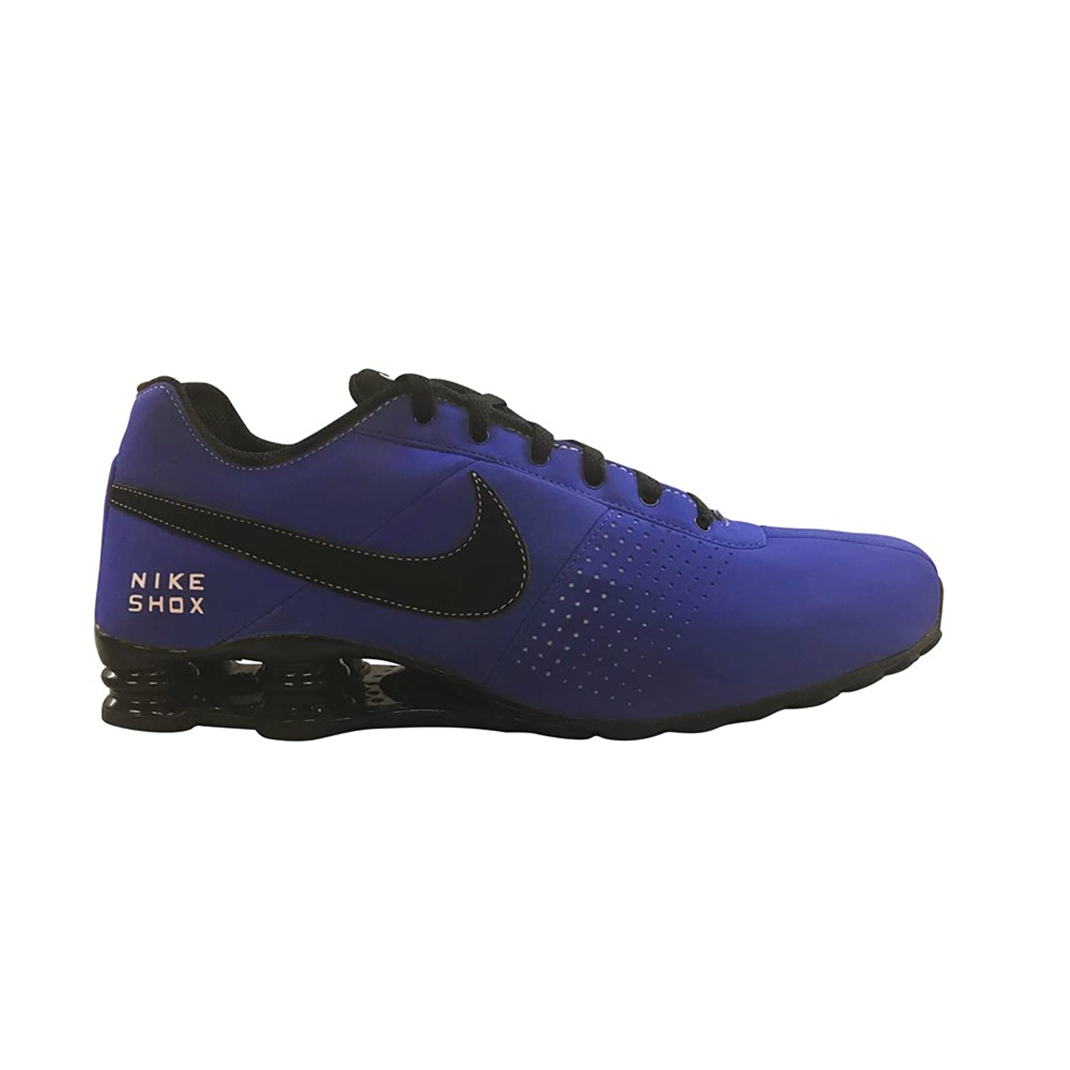 7bab43702cf Comfortable Nike Men Shox Deliver Sneakers New Royal Blue Black Deliver  Sneakers Royal Never let you regret