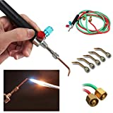 JMsDream Hot Sale Jewelers Micro Mini Gas Little Torch Welding Soldering Kit & 5 Tips