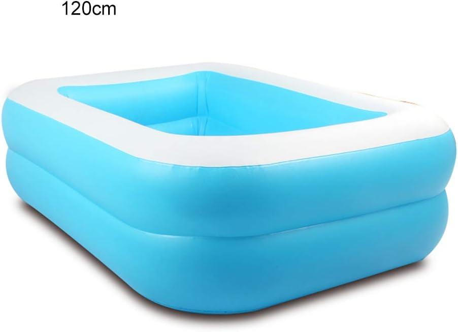 Surenhap - Piscina hinchable rectangular para niños, 1.2m