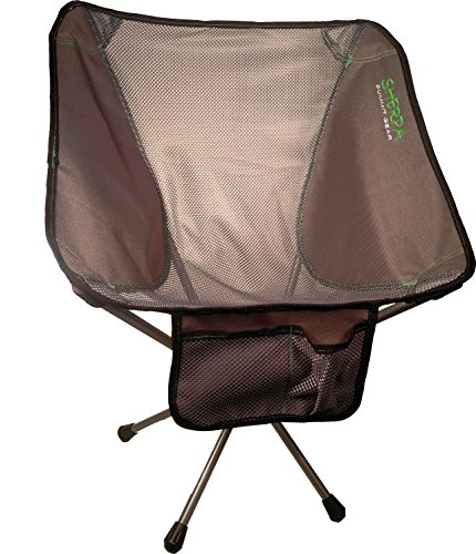 Sherpa Summit Gear Micro Foldable Camping Chair, Grey, One Size by Sherpa Summit Gear