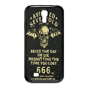 Samsung Galaxy S4 I9500 Phone Case Black Avenged Sevenfold UKT8623872