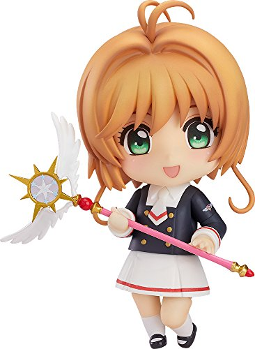 Good Smile Company Cardcaptor Sakura Clear Card: Kinomoto Tomoeda Junior High Uniform Version Nendoroid Action Figure