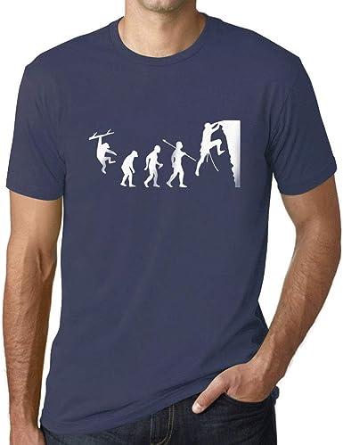 Ultrabasic - Camiseta para Hombre Evolución de la Escalada