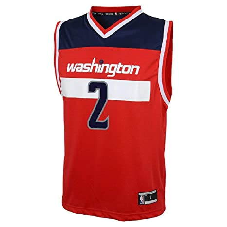 Outerstuff John Wall Washington Wizards NBA Kids 4-7 Red Road Player Jersey  (Kids cd507c4e3