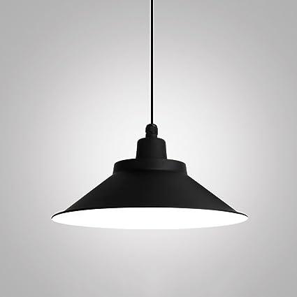 Vampsky Simple Retro Industrial Colgante Lámpara de luz para ...