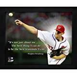"Stephen Strasburg Washington Nationals Framed 11x14 ""Pro Quote"""