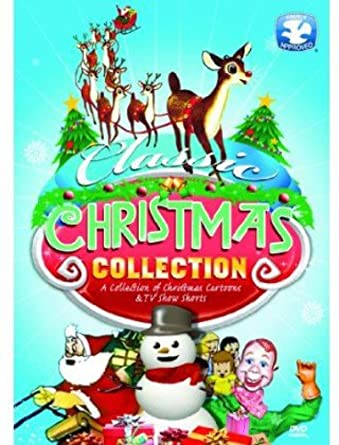 Amazon Com Classic Christmas Cartoon Collection Various Various Movies Tv