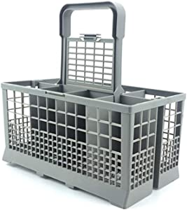 Roloiki Universal Dishwasher Cutlery Basket Storage Box for Kenmore Bosch Maytag KitchenAid Maytag