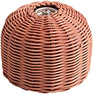 Bamboo braided Gas Tank Protective Cover, Outdoor Camping Gas Can Protection Cover, Cylinder Gas Tank Protecti