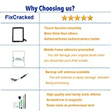 Fixcracked Touch Screen Replacement Parts Digitizer Glass Assembly for Ipad 2 + WiFi Antenna Cable & Professional Tool Kit