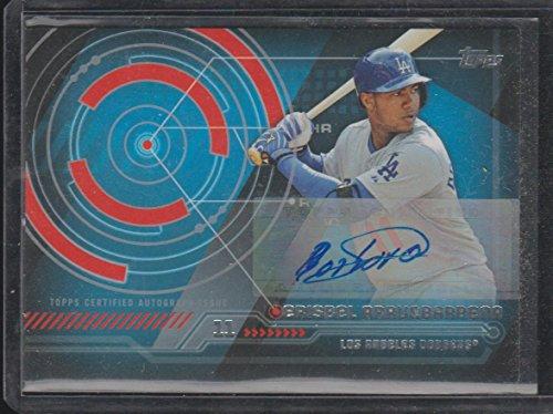 2014 Topps Erisbel Arruebarrena Dodgers Autographed Baseball Card #TA-EA ()