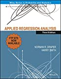 Applied Regression Analysis, 3E