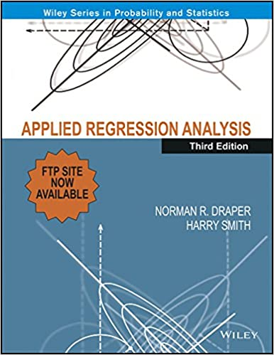 applied regression analysis draper smith pdf free download