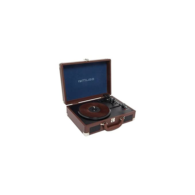 TURNTABLE STEREO SYSTEM, 3 speed stereo turntable 33/45/78 RPM, USB po #4495