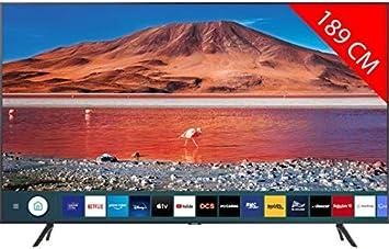TV SAMSUNG UE75TU7125K (LED - 75 - 191 cm: MONITORES / TELEVISORES: Amazon.es: Electrónica