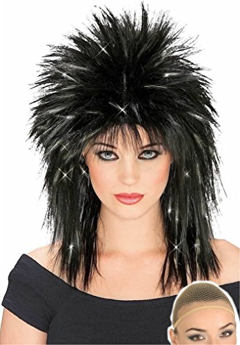 Rubie's Rock Diva Rockstar Wig and Wig Cap