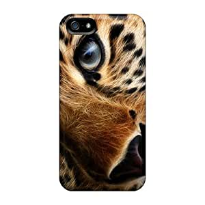 Hot Lonesome Tiger First Grade Tpu Phone Case For Iphone 5/5s Case Cover