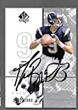 Drew Brees 2002 Upper Deck Chargers Autographed Signed Rookie Card -- COA
