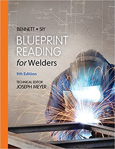 Blueprint reading for welders spiral bound version ae bennett blueprint reading for welders spiral bound version 9th edition malvernweather Image collections