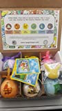 Bath Bombs For Kids With Surprise Toys Inside (POKEMON) USA made, Natural, Organic XL 5 oz Gift Set For Girls/Boys