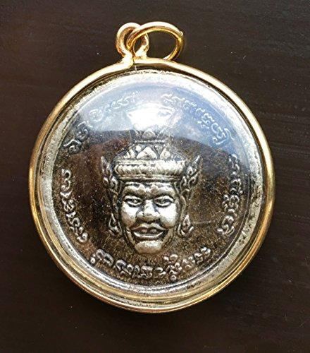 Thai amulet power the best amazon price in savemoney ganesha por kae hermit pendant thai hindu amulet god lucky success jewelry elephant statue aloadofball Choice Image