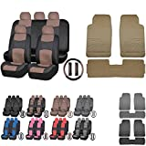 Beige Automotive Universal Fit Seat Covers