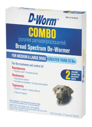 BND 950458 FARNAM PET - D-worm Combo Large Dog 100503371