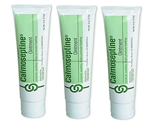 Ointment Moisture Barrier (Calmoseptine Ointment Tube, 4 Ounce (Pack of 3))