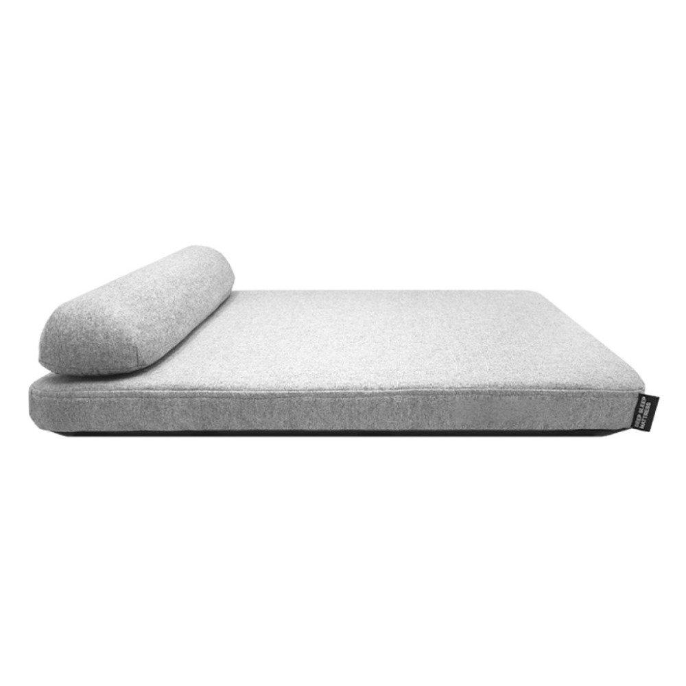 LDFN Dog Pillow Bed Four Seasons General Large Medium Small Size Dog Mattress Sofa Cushions,Grey-M