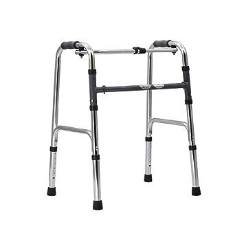 HSZXQ Plegable Marco Ligero Caminar Altura Ajustable Walker ...