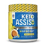 Coffee Keto Creamer (30 Servings) – Grass-Fed Butter, Coconut Oil, MCT Oil & Collagen Peptides – Zero Carbs, 100% Gluten & Dairy Free, Absorbs and Digests Easy, Delicious Vanilla Flavor