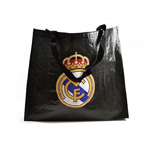 Tote Real CF Negro Madrid Bolso 66xqtw5Tr