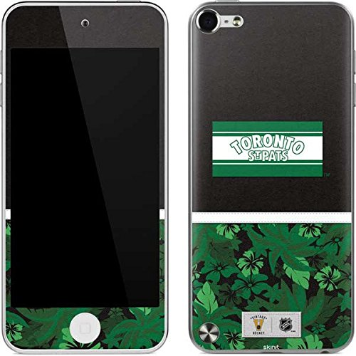 (NHL Toronto Maple Leafs iPod Touch (5th Gen&2012) Skin - Toronto St. Pats Retro Tropical Print Vinyl Decal Skin For Your iPod Touch (5th Gen&2012))