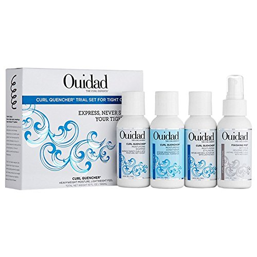 OUIDAD Curl Quencher Trial Set for Tight Curls, 10 oz.