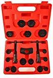 Motivx Tools 18 Piece Brake Caliper Wind Back Tool Set for Disk Brake Pad Replacement