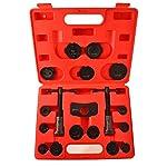 Motivx Tools 18 Piece Brake Caliper Wind Back Tool Set for Disk Brake Pad Replacement