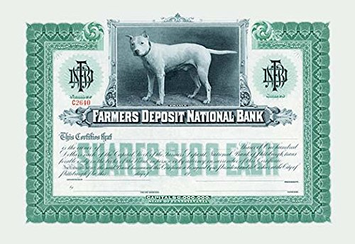Buyenlarge 0 587 00339 1 P1827  Farmers Deposit National Bank  Paper Poster  18  X 27