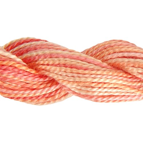 - DMC 415 5-4120 Color Variations Pearl Cotton Thread, Size 5, 27-Yard, Tropical Sunset