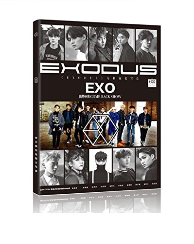 Fanstown EXO Photo Album With EXO Lomo Cards EXODUS