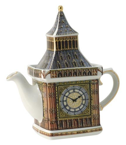 James Sadler Teapots - Big Ben Monument