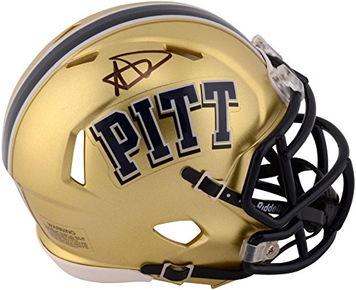 Aaron Donald Pittsburgh Panthers Autographed Riddell Mini Helmet - Fanatics Authentic Certified - Autographed College Mini Helmets (Autographed Riddell Helmet)
