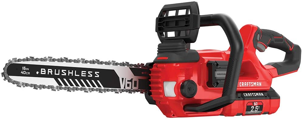 Craftsman CMCCS660E1 V60 16″ Cordless Chainsaw
