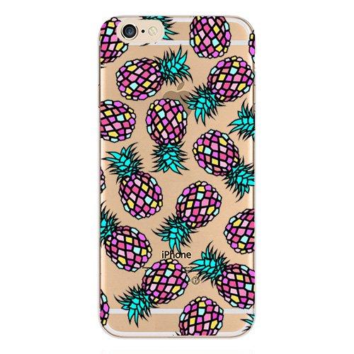 iPhone Blingys Flexible Transparent Pineapple