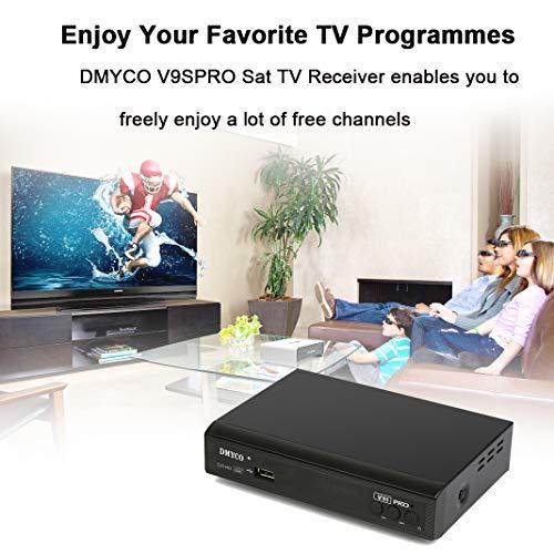 Satellite Receiver FTA Signal Meter TV Tuner Sat Decoder DVB-S2