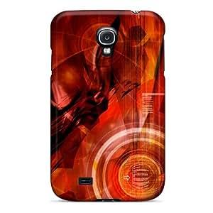 Galaxy High Quality Tpu Case/ The Red Darkness KCJFZqx7545CZqhv Case Cover For Galaxy S4