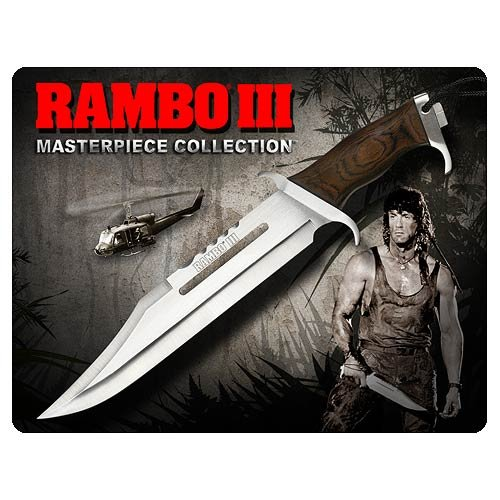 Rambo Knives Masterpiece Collection 3 Hollywood Collectibles Standard Edition Knife