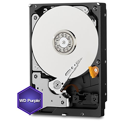 WD Purple 1TB Surveillance Hard Disk Drive - 5400 RPM Class SATA 6 Gb/s 64MB Cache 3.5 Inch - WD10PURX [Old Version] (Certified Refurbished) by Western Digital (Image #2)