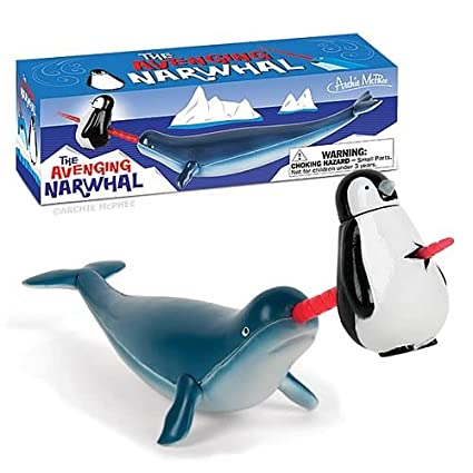 Amazoncom Accoutrements The Avenging Narwhal Action Figure Toys
